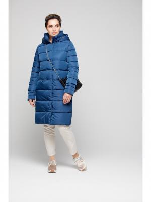 Пальто GOLD&ZISS. Цвет: синий