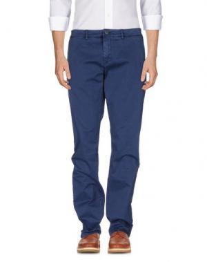 Повседневные брюки HAMPTONS. Цвет: синий