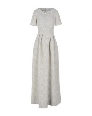 Длинное платье BLUGIRL BLUMARINE. Цвет: светло-серый