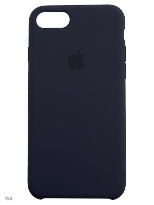 Силиконовый чехол для iPhone 7 Apple. Цвет: темно-синий