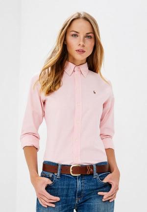 Рубашка Polo Ralph Lauren. Цвет: розовый