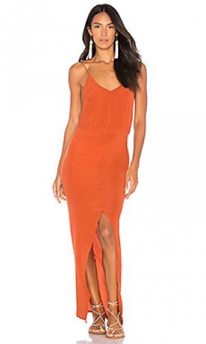 Платье nunu Acacia Swimwear. Цвет: красный