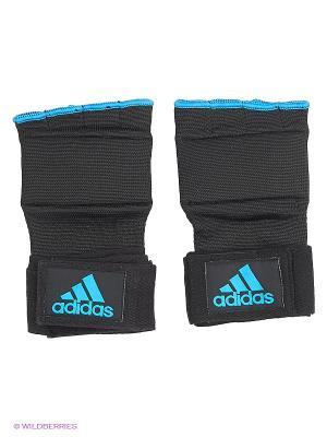 Внутренние перчатки Super Inner Gloves Gel Knuckle Adidas. Цвет: черный