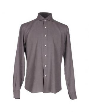 Pубашка DANDYLIFE BY BARBA. Цвет: свинцово-серый