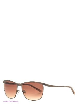 Очки Bogner. Цвет: коричневый
