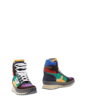 Полусапоги и высокие ботинки DSQUARED2. Цвет: фиолетовый