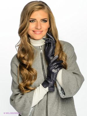 Перчатки Dali Exclusive. Цвет: темно-фиолетовый