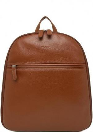 Кожаный рюкзак коричневого цвета Picard. Цвет: коричневый