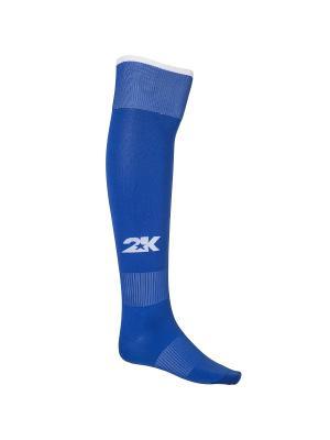 Гетры футбольные Classic 2K. Цвет: синий, белый