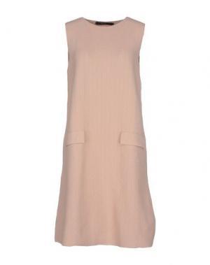 Короткое платье NATAN. Цвет: телесный