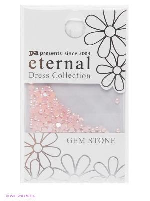 Стразы-камушки для ногтевого дизайна Розовый жемчуг 2мм ETERNAL Dress Collection Gem Stone PA presents since 2004. Цвет: розовый