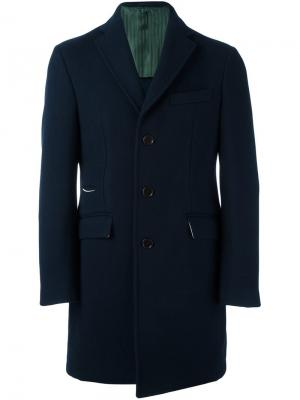 Пальто средней длины Al Duca D'Aosta 1902. Цвет: синий