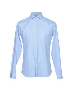 Pубашка GHERARDINI. Цвет: небесно-голубой