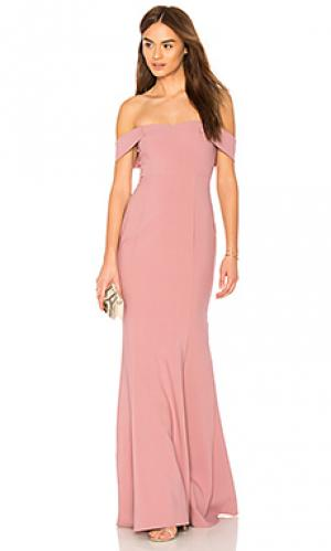 Вечернее платье bartolli LIKELY. Цвет: rose