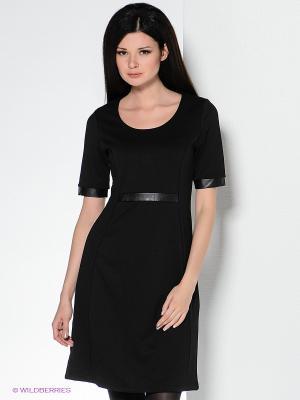 Платье QUIOSQUE. Цвет: черный