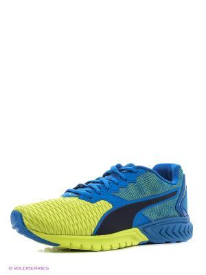 Кроссовки IGNITE Dual Puma. Цвет: голубой, желтый