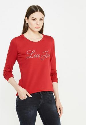 Лонгслив Liu Jo Jeans. Цвет: красный