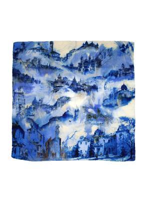 Платок Magrom. Цвет: синий