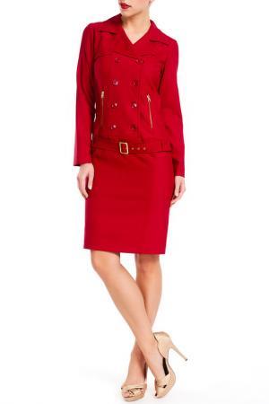 Платье PAMELA MILANO. Цвет: красный