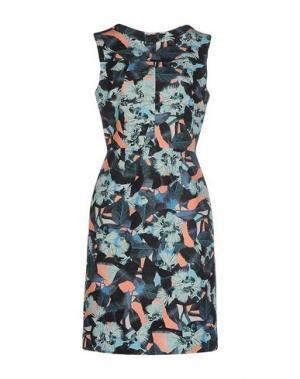 Платье до колена ERDEM. Цвет: зеленый