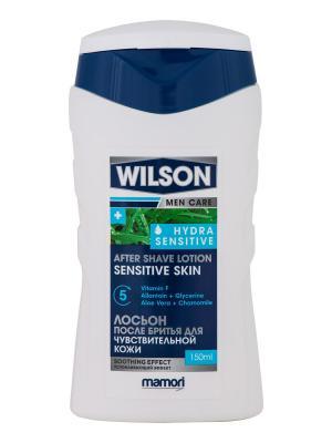 Лосьон после бритья Wilson Men Care Hydra Sensitive для чувствительной кожи Wilson,  2 шт. Цвет: белый
