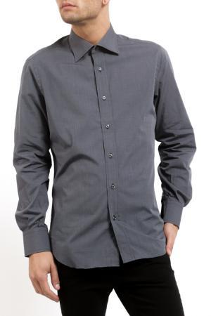 Рубашка Pierre Balmain. Цвет: серый