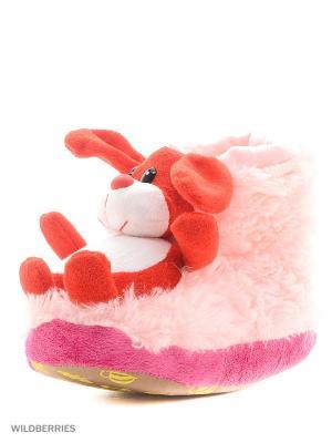 Обувь домашняя Effa. Цвет: розовый, красный