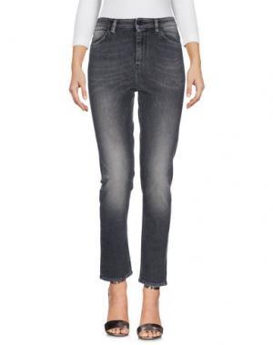 Джинсовые брюки PENCE. Цвет: черный