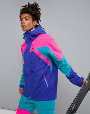 O'Neill Фиолетовая горнолыжная куртка ONeill Reissue 91. Цвет: фиолетовый