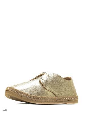 Ботинки Inblu. Цвет: золотистый