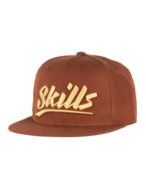 Бейсболка SKILLS 03. Цвет: коричневый