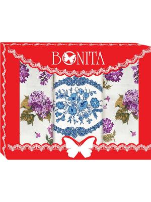 Полотенца кухонные BONITA. Цвет: белый