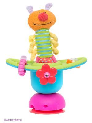 Игровая карусель на присоске TAF TOYS. Цвет: салатовый, голубой, желтый