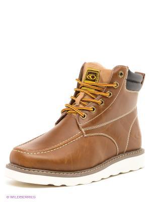 Ботинки Catmandoo. Цвет: коричневый