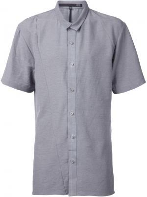Рубашка с короткими рукавами Ødd.. Цвет: серый