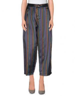 Повседневные брюки PEACOCK BLUE. Цвет: цвет морской волны
