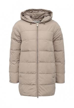 Куртка утепленная Tom Farr. Цвет: бежевый