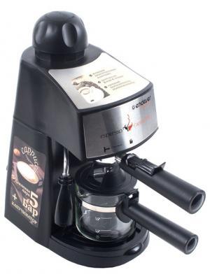 Кофеварка рожкового типа Endever. Цвет: черный