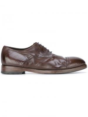 Туфли дерби Sasha Alberto Fasciani. Цвет: коричневый