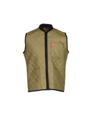 Куртка ENGEL ORIGINAL. Цвет: зеленый-милитари