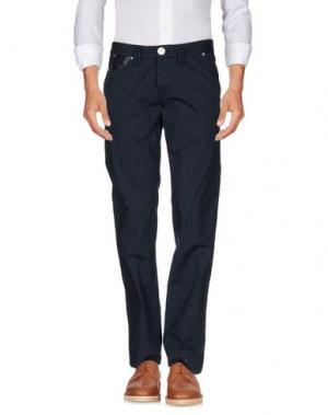 Повседневные брюки TAKE-TWO. Цвет: темно-синий
