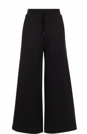 Расклешенные брюки с эластичным поясом Acne Studios. Цвет: черный