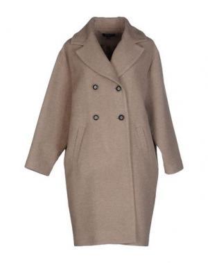 Пальто AXARA PARIS. Цвет: бежевый