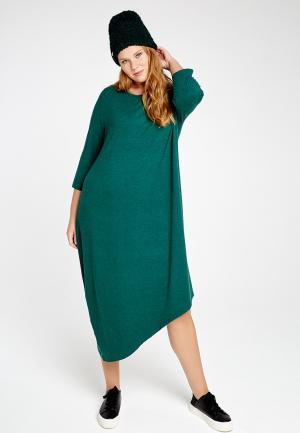 Платье Lessismore. Цвет: бирюзовый
