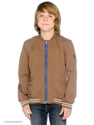 Бомбер American Outfitters. Цвет: коричневый