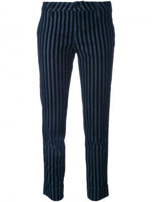 Укороченные джинсы The Seafarer. Цвет: синий