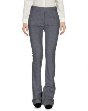 Повседневные брюки OTTOD'AME. Цвет: серый