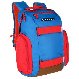 Рюкзак спортивный детский  Metalhead Parker Colorblock Burton. Цвет: красный,синий,коричневый