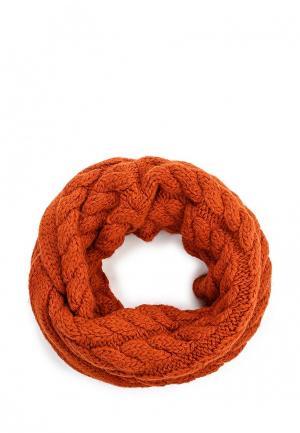 Снуд Ferz. Цвет: оранжевый