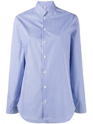Рубашка в полоску Sarah Marie Marot. Цвет: синий